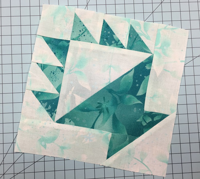 Make This Quick Block With Just Two 10″ Squares