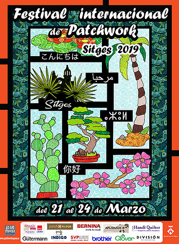 A Visit to the Sitges Patchwork Exhibition 2019 in Spain